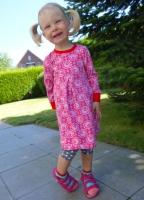Kinderkleid Farbenmix Schnittmuster