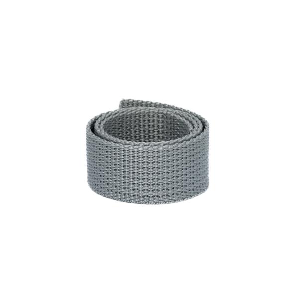 Poly Gurtband 25mm Hellgrau