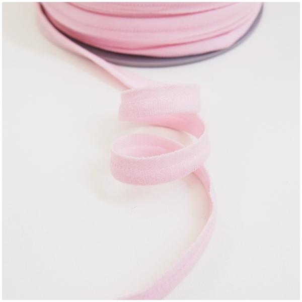 breite elastische Paspel, rosa