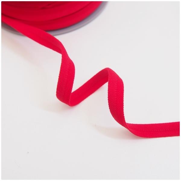 breite elastische Paspel, rot