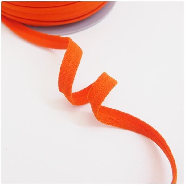 breite elastische Paspel, orange