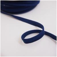 breite elastische Paspel, marine
