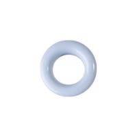 20 Stk. Oesen und Scheiben, 8mm, hellblau