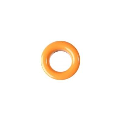 20 Stk. Oesen und Scheiben, 8mm, orange
