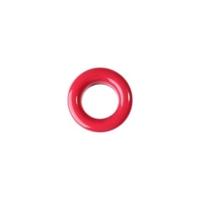 20 Stk. Oesen und Scheiben, 8mm, rot