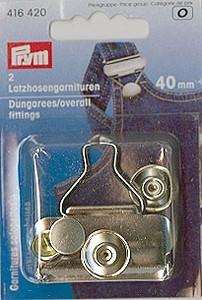 Prym 2x Latzhosengarnituren