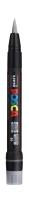 Posca Marker mit Pinselspitze, silber