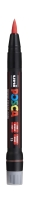 Posca Marker mit Pinselspitze, rot