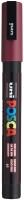 PC3M Posca Marker 0.9 - 1.5 mm bordeaux