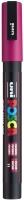 PC3M Posca Marker 0.9 - 1.5 mm fuchsia