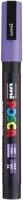 PC3M Posca Marker 0.9 - 1.5 mm lila