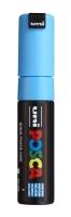 PC8K Posca Marker 8 mm hellblau
