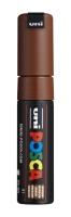 PC8K Posca Marker 8 mm braun
