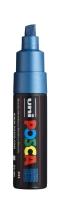PC8K Posca Marker 8 mm blau metallic