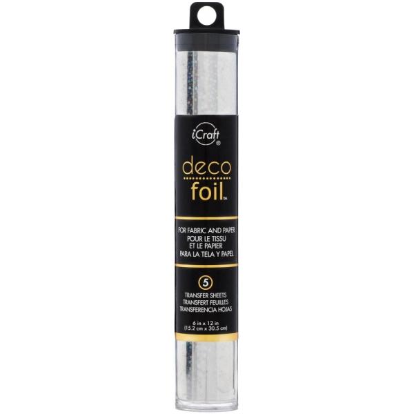 Deco Foil Folie Silver Stars 15cm
