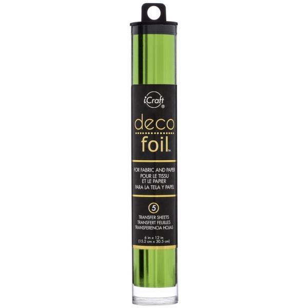 Deco Foil Folie Spring Green 15cm