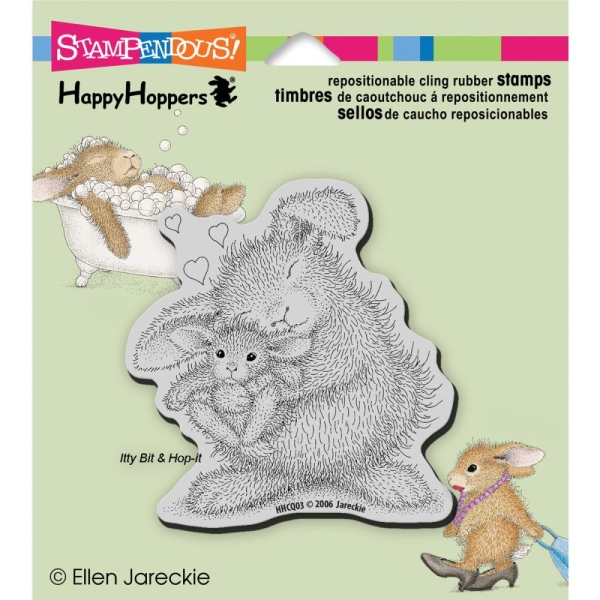 Stampendous Cling Stempel - Bunny Love
