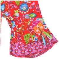 Farbenmix schmales Sternchen Webband aqua-weiss