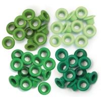 Zieroesen Eyelets klein 5mm grün