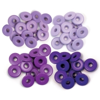 Zieroesen Eyelets gross 5mm lila