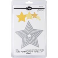 Stanzschablone Sizzix Framelits Sterne 5