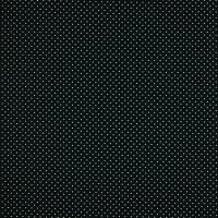 Baumwollpopeline Minipunkte schwarz