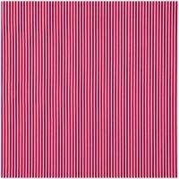 Baumwollpopeline schmal gestreift pink-weiss