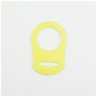Silikonring, gelb