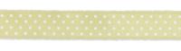Druckband Punkte 32mm lime