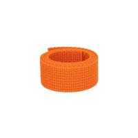 Poly Gurtband 25mm Orange