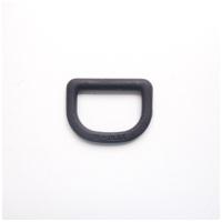 Halbrundring, schwarz, 35x30 mm für 25mm Band