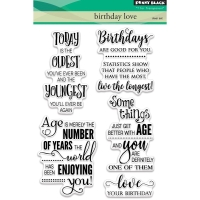 Clear Stamps Birthday Love