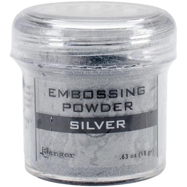Embossingpulver silber