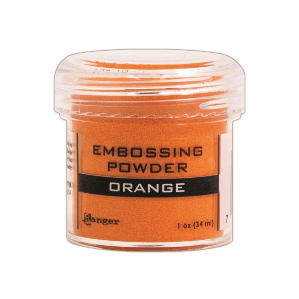 Embossingpulver orange