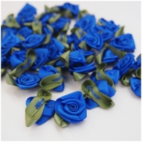Satin Rose helleres royalblau