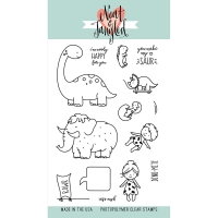 Neat and Tangled Stamp & Die Set Prehistoric