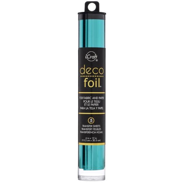 Deco Foil Folie Aqua 15cm