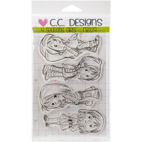 Clear Stamps 4 Seasons Girls