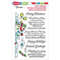 Clear Stamp Set Snowman Wishes