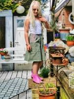Hosenrock IDA Farbenmix Schnittmuster