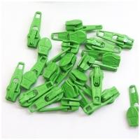6mm Reissverschluss Schieber, grün