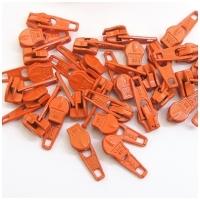 6mm Reissverschluss Schieber, orange