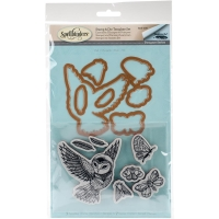 Spellbinders Stamp and Die Set Owl