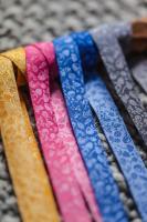 Farbenmix Webband Forest Mini-Sweets blau