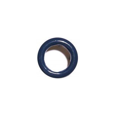 Jersey Druckknopf ring 20 Stk.  marineblau