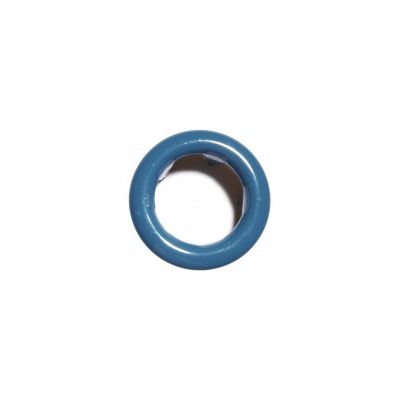 Jersey Druckknopf ring 20 Stk. jeansblau