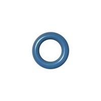 20 Stk. Oesen und Scheiben, 8mm, jeansblau