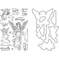 Hero Arts Stamp and Die Set Angels