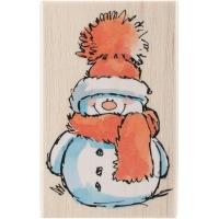 Penny Black Holzstempel Snowy Schneemann