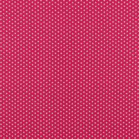 Baumwollpopeline Mikrosterne pink